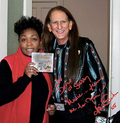 DAVID NIGHTEAGLE WITH ANITA BAKER